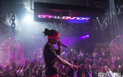 Young Thug at Foxtail Nightclub