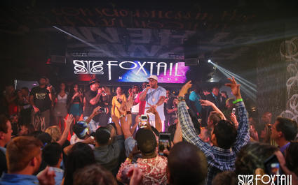 Flo Rida & Borgore at Foxtail Nightclub